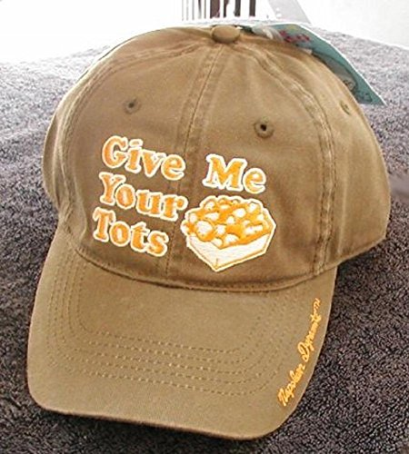 Adult Baseball Cap - Give Me Your Tots (Hat Napoleon)