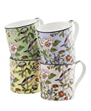 Aynsley Pembroke Color Windsor Mugs (Set of 4)