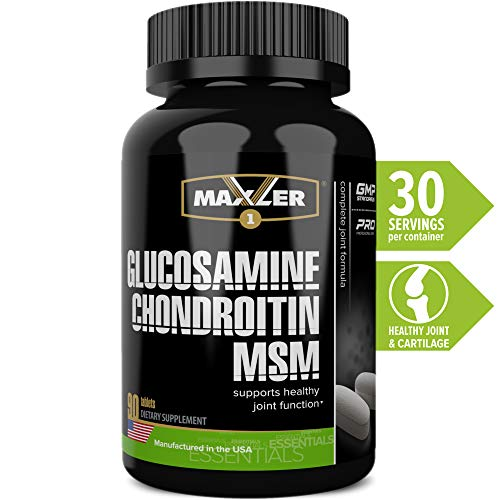 (Glucosamine Chondroitin MSM - Joint Supplements for Men - Women - Joint Support - 90 Tablets)