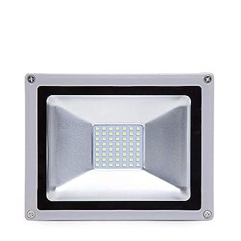 Greenice   Foco Proyector LED IP65 SMD Brico 20W 2200Lm 30.000H   Blanco Frío