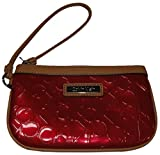 Calvin Klein Women's Wristlet, Color Red Combo