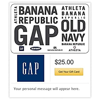 Gap Options Gift Cards - E-mail Delivery (B016PASXA2) | Amazon price tracker / tracking, Amazon price history charts, Amazon price watches, Amazon price drop alerts