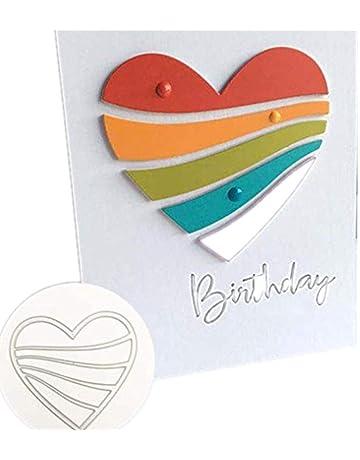 Cutting Dies,Hstore Dragonfly Balloon boy and Girl Flowers Paper Card Making Metal Die Cut