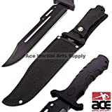 Ace Martial Arts Fixed Blade Tactical Combat Knife 13-Inch Overall