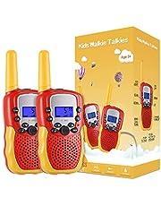 Kearui Toys pour Enfants de 3 a 12 Ans, talkies-Walkies 8 canaux avec Lampe de Poche LCD