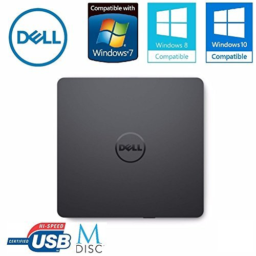 Dell External USB Ultra Slim USB DVD +/- RW Optical Drive 429-AAUQ by Dell Computers
