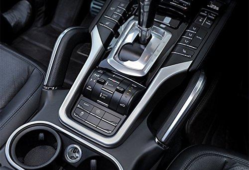 ABS cromado marco de caja de cambio de marchas Interior Trim Funda Para Porsche Cayenne 2011 - 2016: Amazon.es: Coche y moto