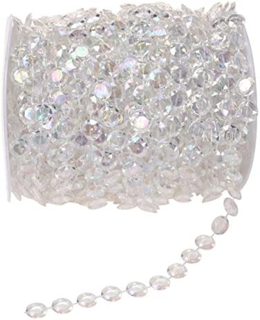 Bag of ~325 Beads Color Splash Faux Crystal Beads