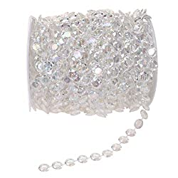 Clear Crystal Like Beads Roll