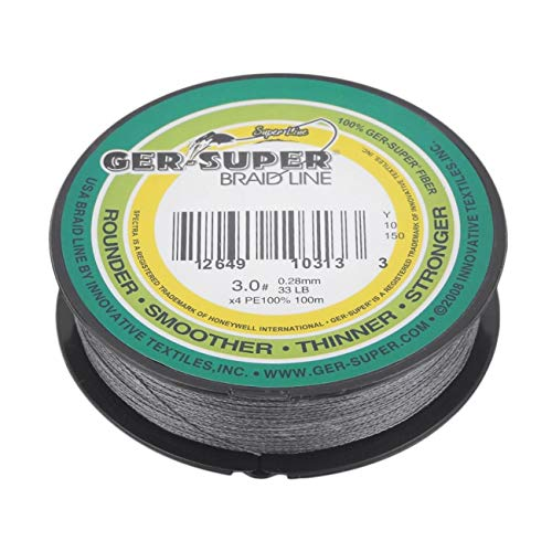 FayOK Super Strong 100m Good Fishing Line Braid line Compatible for Fish Rods 0.28MM 30LB