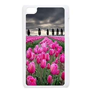 Chaap And High Quality Phone Case FOR IPod Touch 4th -Beautiful Holland Tulip Pattern-LiShuangD Store Case 16