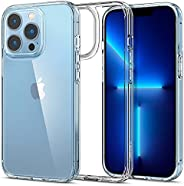 Spigen Ultra Hybrid Designed for Apple iPhone 13 Pro Case (2021) [Anti-Yellowing] - Crystal Clear