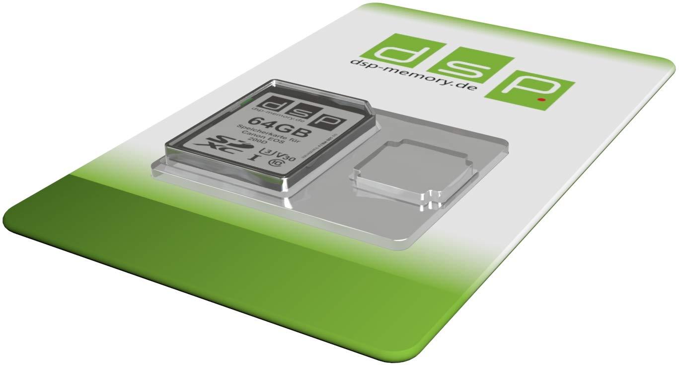 Tarjeta de Memoria de 64 GB para cámara Digital Canon EOS 200D ...