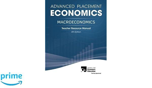 advanced placement economics macroeconomics teacher resource rh amazon com advanced placement economics teacher resource manual 3rd edition pdf advanced placement economics macroeconomics teacher resource manual 4th edition