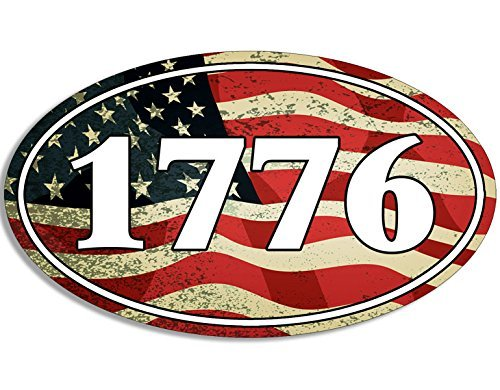 New England Patriots 4x6 Rug (MAGNET OVAL USA Flag BG 1776 Magnetic Sticker (patriotic patriot american molon))