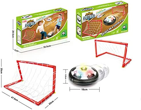 WishY Air Power Soccer, Air Hover Ball Juguete Balón de Fútbol ...