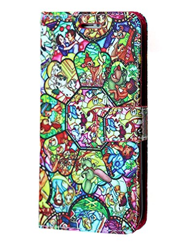 - Disney Princess iPhone 8 Plus Wallet Case, IMAGITOUCH Folio Flip PU Leather Wallet Case with Kickstand Wrist strap and Card Slots for iphone 8 Plus - Slim Book Disney Princesses Characters Wallet