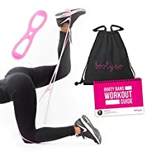 Extra - Comfortable Booty Workout Band- Exercise Resistance Bands with Foot Loops for Jump- Stretch and Brazilian Butt Lift Fitness By Booty Band.
