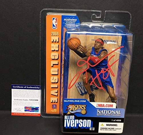 Allen Iverson Autographed Signed 2004 Exclusive 76ers Mcfarlane Action Figure Hof Memorabilia PSA/DNA 2496