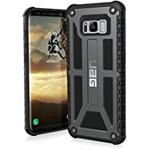 UAG Samsung Galaxy S8+ [6.2-inch screen] Monarch Feather-Light Rugged [GRAPHITE] Military Drop Tested Phone Case