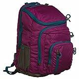 Embark 19″ Recycled Content Elite Jartop Backpack with Cushioned Laptop Sleeve (Dark Purple)