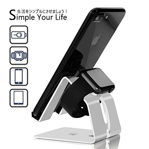 Cell Phone Stand,Apple Watch Stand,FOGEEK 3 in 1 Universal Phone Magnetic Charging...