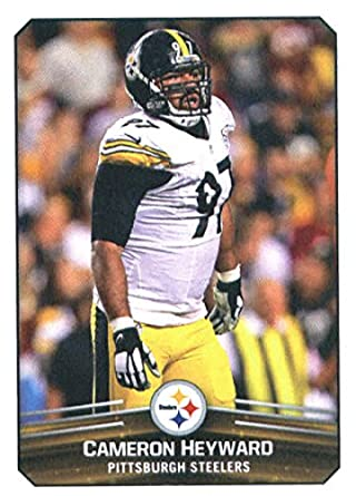 e2b58b077 2017 Panini Stickers  123 Cameron Heyward Pittsburgh Steelers Football  Sticker