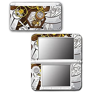 Art Abstract Steampunk Gear Machine Video Game Vinyl Decal Skin Sticker Cover for Original Nintendo 3DS XL System