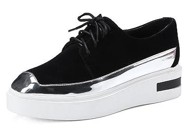 Damen Schuhe Sneaker Schwarz Glitzer Sportschuhe Freizeitschuhe Keilabsatz neu