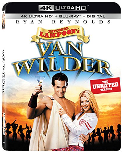 Blu-ray 3D : National Lampoon's Van Wilder (With Blu-Ray, 4K Mastering, 2 Pack, Subtitled, Widescreen)