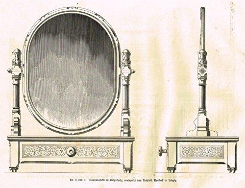 Baumer's 'Gewerbehalle'- Turned Swinging Mirror