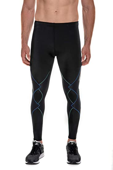3c640e881 Amazon.com : CW-X Men's Expert Joint Support Compression Tights : Running  Compression Tights : Clothing