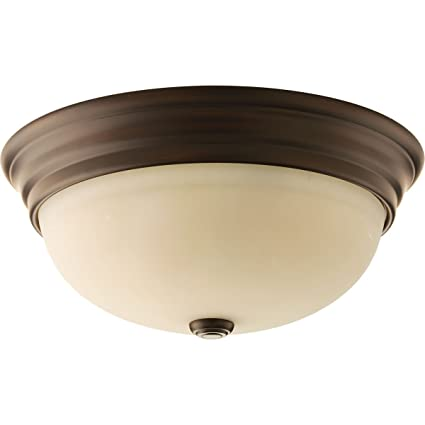 Amazon.com: Progress iluminación P3502 Espíritu Flush Mount ...