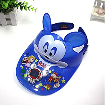 cf08080bd3d Solar Powered Fan Cap Keeps You Cool For Child  Amazon.in  Garden   Outdoors