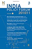 img - for India Policy Forum 2010-11: Volume 7 book / textbook / text book