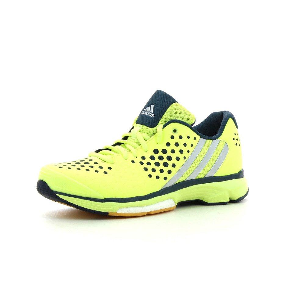 adidas Volley Response Boost W - Zapatillas para Mujer, Color Lima/Plata / Azul Marino, Talla 39 1/3