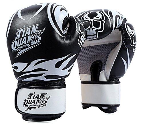 CC-JJ - Pro Sandbag Training Skulls Boxing Gloves Mens Sanda