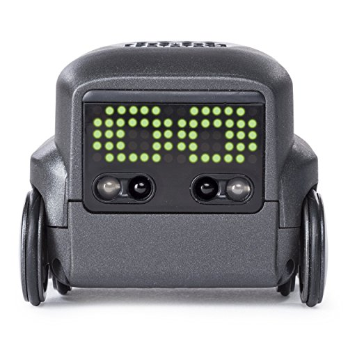 Boxer Interactive A.I. Robot Toy (Black) with Personality & Emotions, for Ages 6 & Up