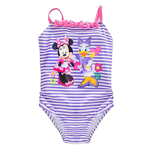 Disney Minnie Mouse Happy Helpers Swimsuit for Girls Purple