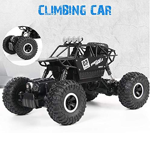 - Stone scissors Remote Control Car, 1:18 Scale 2.4 Ghz 4WD High Speed Vehicle Rally Car for Kids and Adults, Black