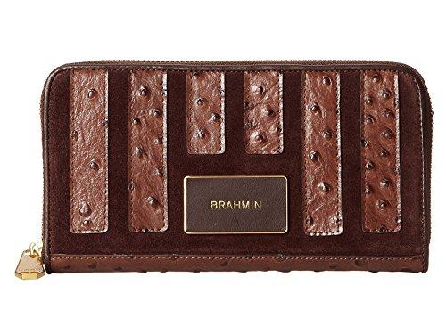 Brahmin Leather Soft Checkboo Papaya Prague (Prague Leather Handbag)