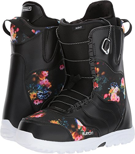 Burton Mint Snowboard Boot - Women's Black/Multi, 4.0