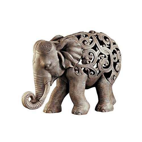 Design Toscano Anjan the Elephant Jali (Garden Accent Statue)