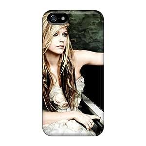 JohnPrimeauMaurice Apple Iphone 5/5s Best Hard Cell-phone Case Provide Private Custom Vivid Avril Lavigne Series [wTG7488opgc]