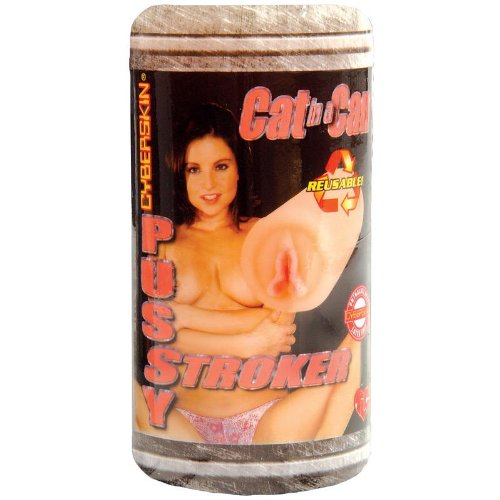 CyberSkin Cat In a Can Pussy Stroker, Natural