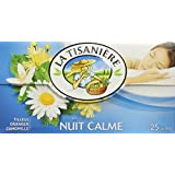 La Tisaniere French Tisane - 25 Counts (Nuit Calme (Tranquil night))