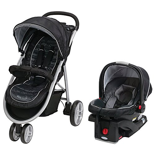 Grac0 Aire3 Click Connect Travel System, Gotham