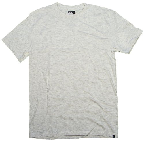 Quiksilver Blank Slim T-Shirt - Natural Heather - S