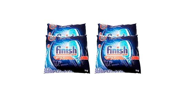 Amazon.com: Acabado lavaplatos Sal de rendimiento bolsa, 2.2 ...