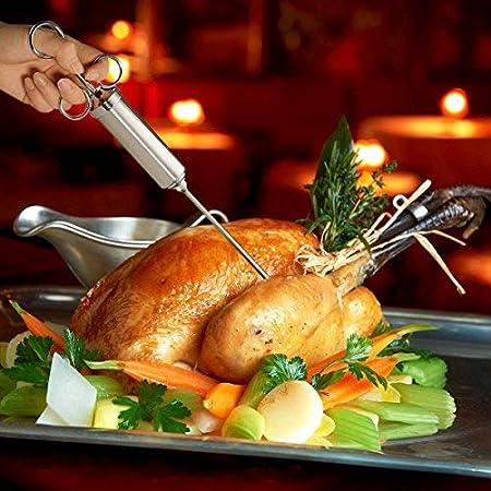 HR Inyector de carne para pavo y pollo saborizado condimento ...